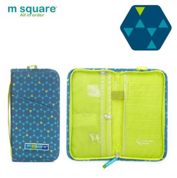 Bao da đựng pasport du lịch cỡ lớn Msquare Business II