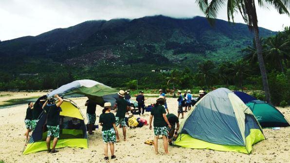 làng vân cắm trại ở đà nẵng