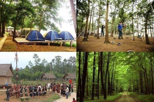 đồng mô địa điểm cắm trại gần hà nội