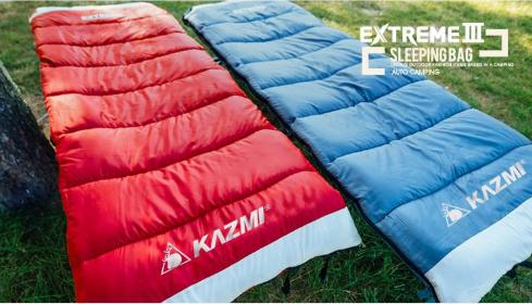 Kazmi- thương hiệu túi ngủ du lịch hàng đầu Hàn Quốc