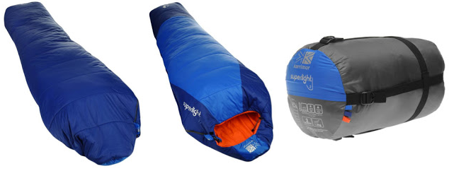 Túi ngủ có chất liệu bông cao cấp siêu nhẹ và mềm