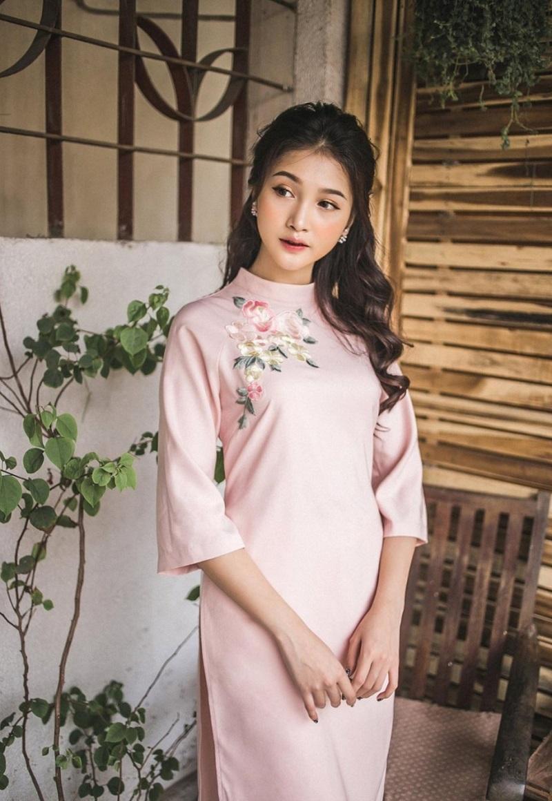 áo dài vải linen