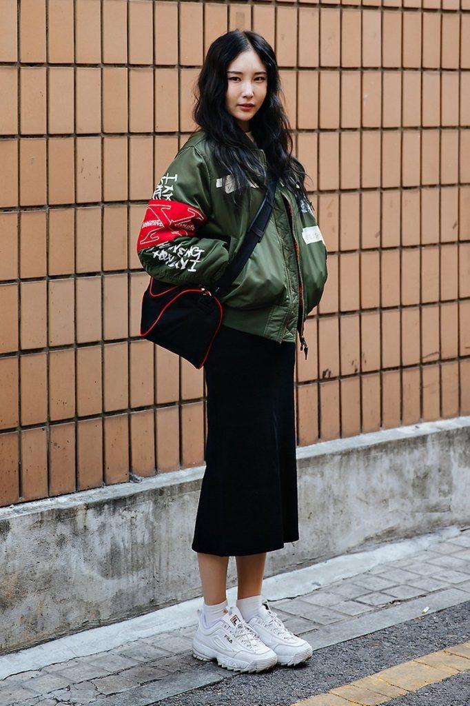 áo khoác bomber nữ