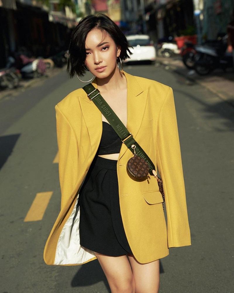 áo khoác oversize