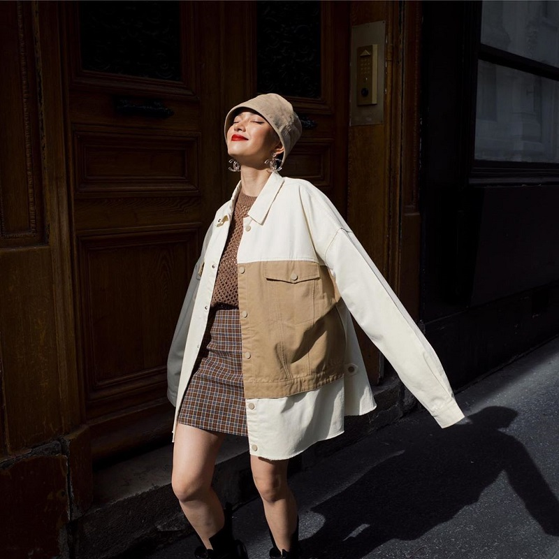 áo oversize nữ