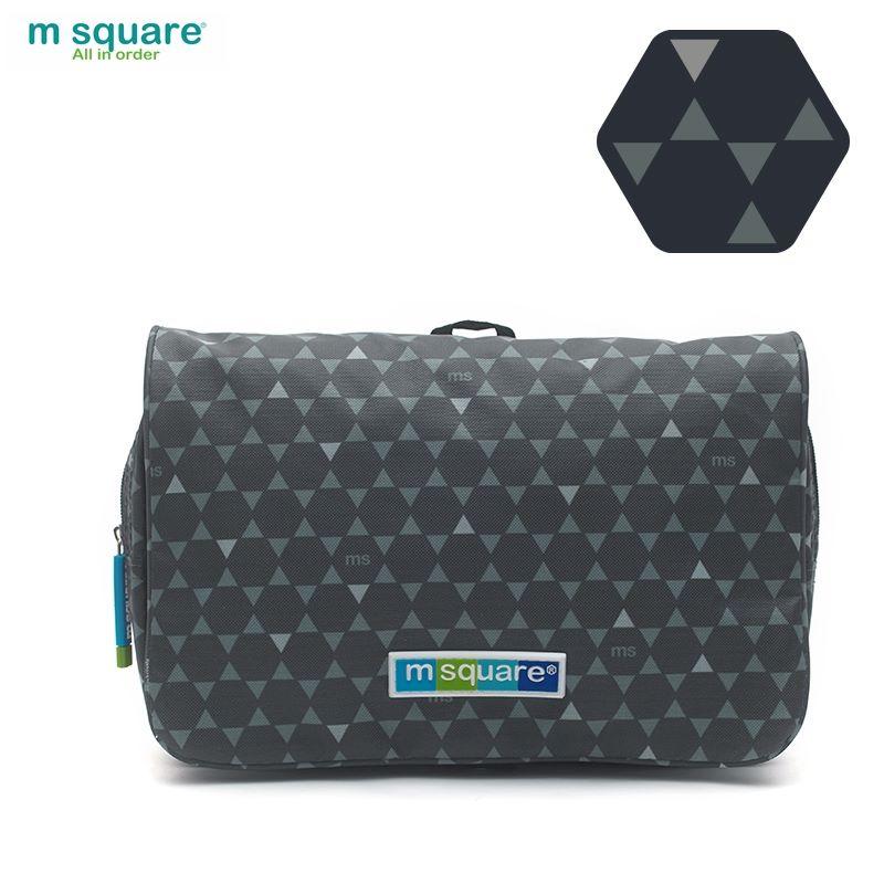Túi đựng mỹ phẩm du lịch Msquare Business II màu đen