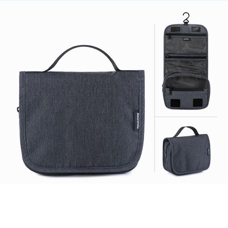 Túi đựng mỹ phẩm khi đi du lịch Naturehike Dark Grey