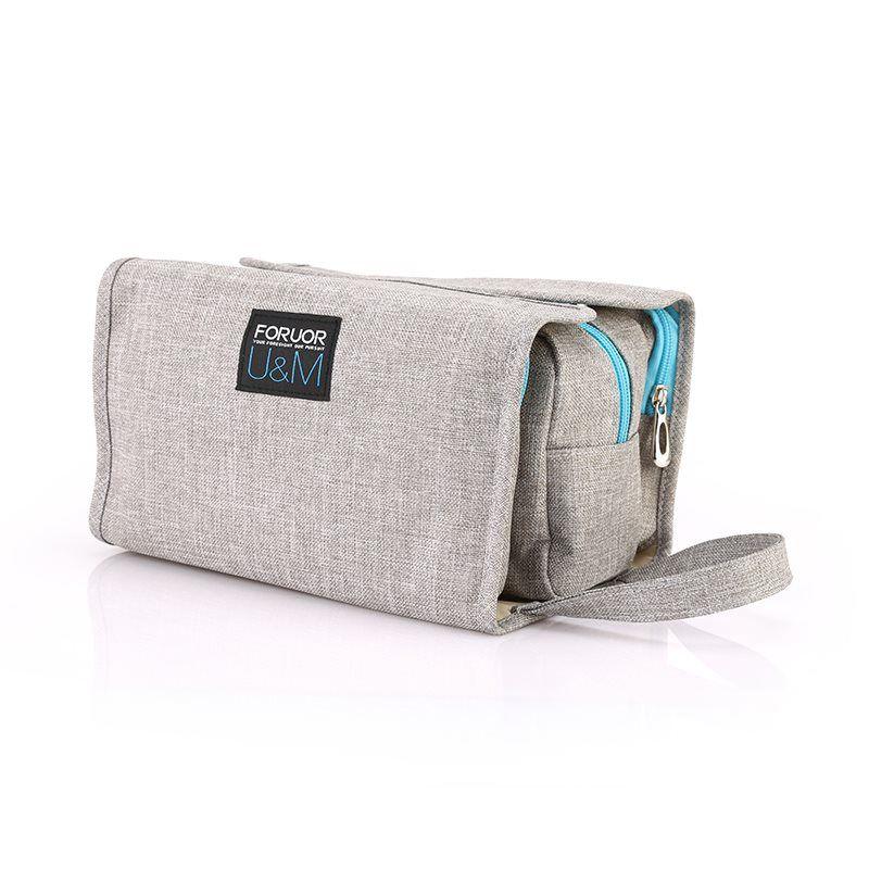 Túi đựng mỹ phẩm U & M Foruor màu xám
